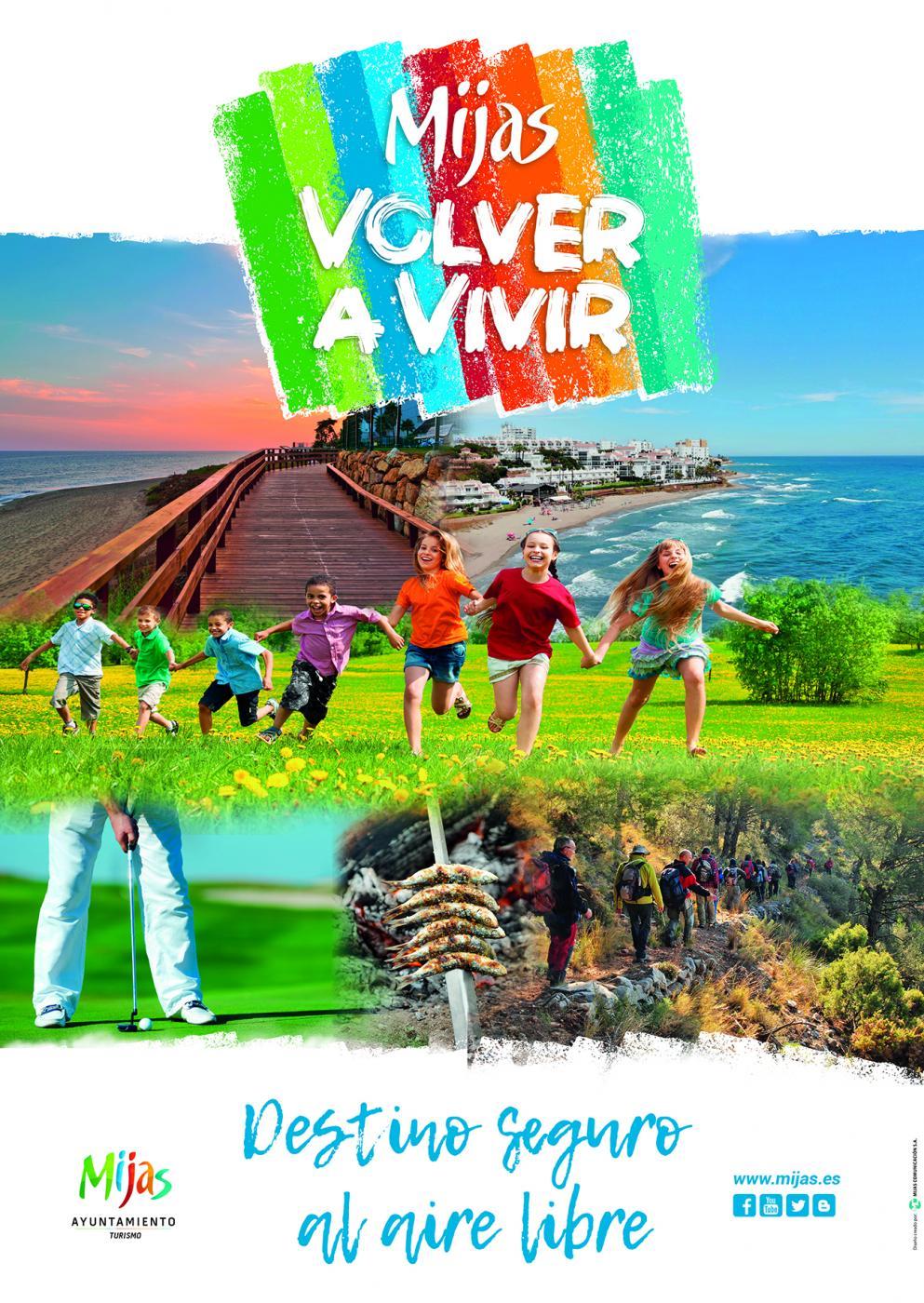 Cartel de la campaña promocional que se presentará este miércoles en Fitur.