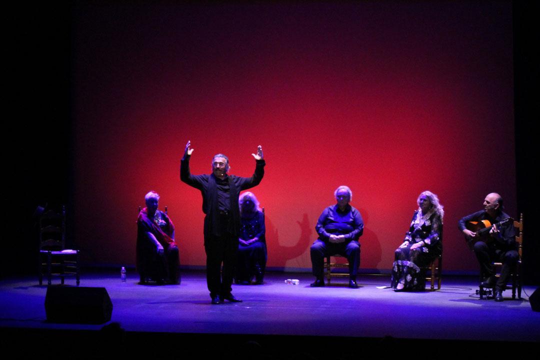 Recital del grupo Talía en el Teatro Las Lagunas.