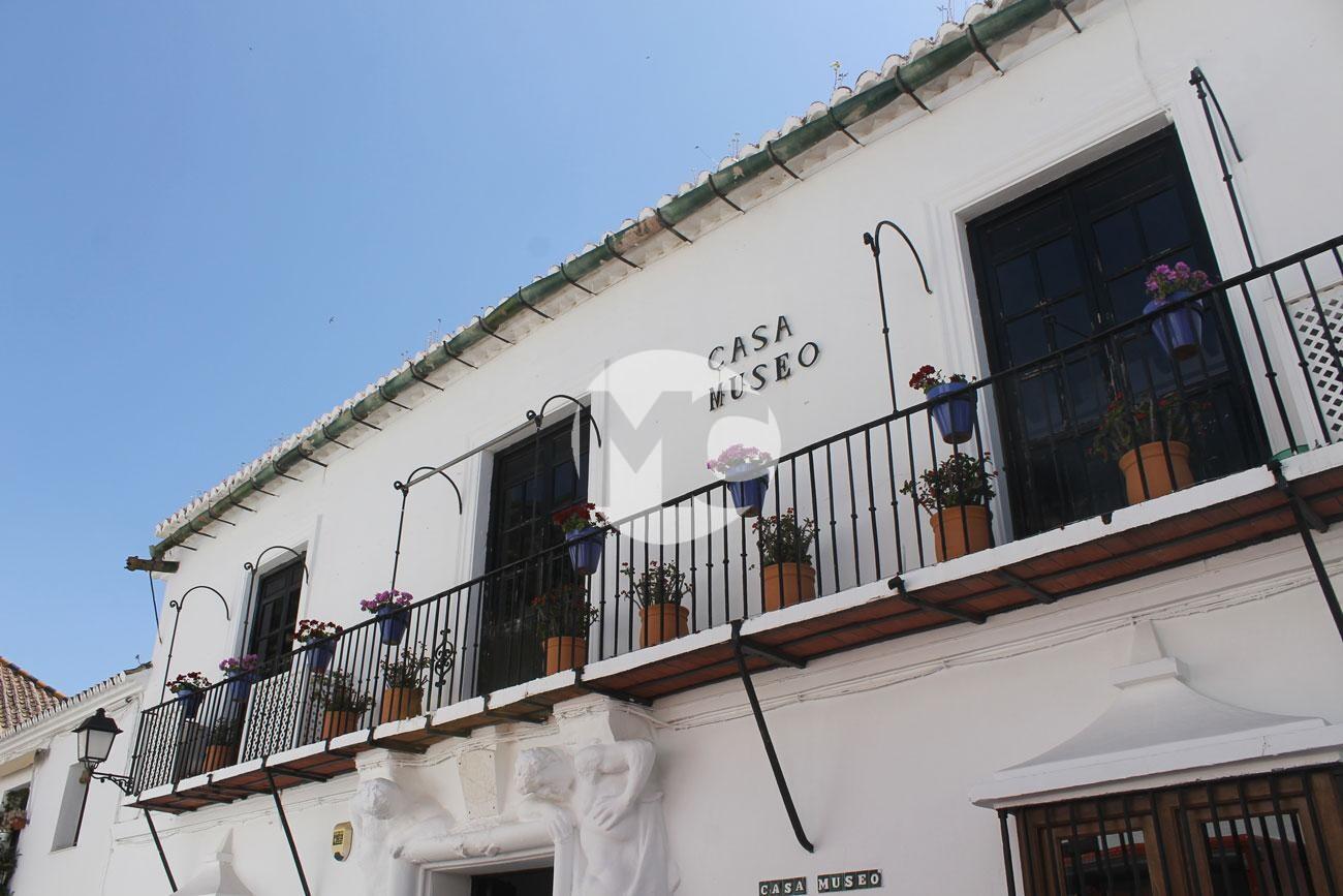 Fachada de la Casa Museo de Mijas Pueblo.