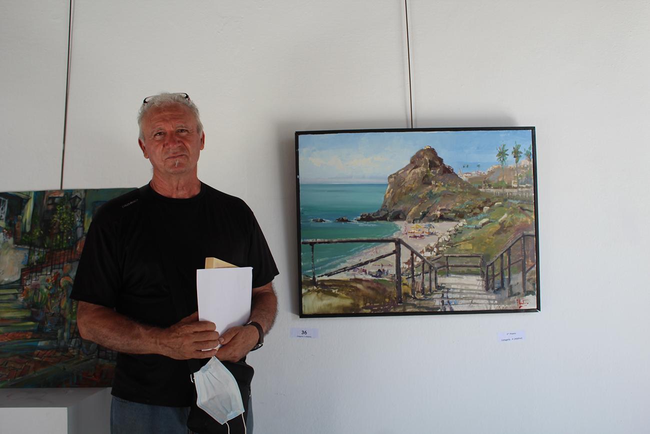 Antonio Cantero se decantó por el mar y se llevó uno de los segundos premios