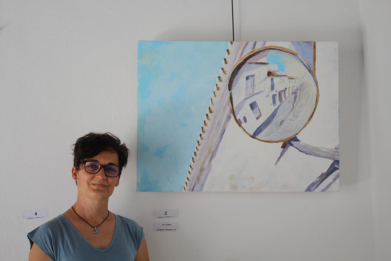 Humildad Ríos, ganadora del premio en la categoría de la Universidad Popular