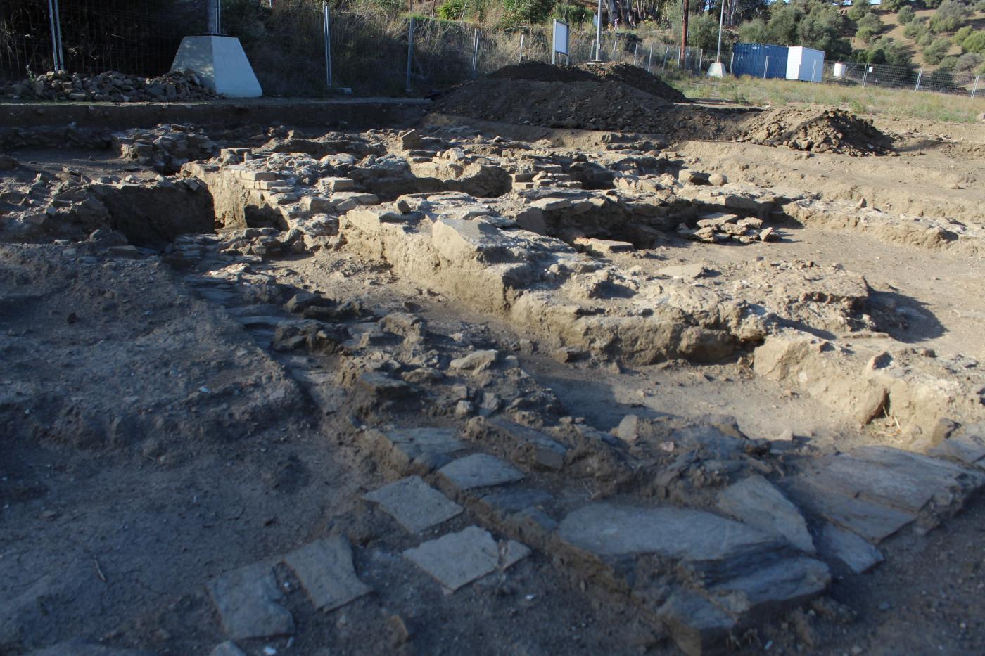 Restos arqueológicos en la Finca Acebedo.