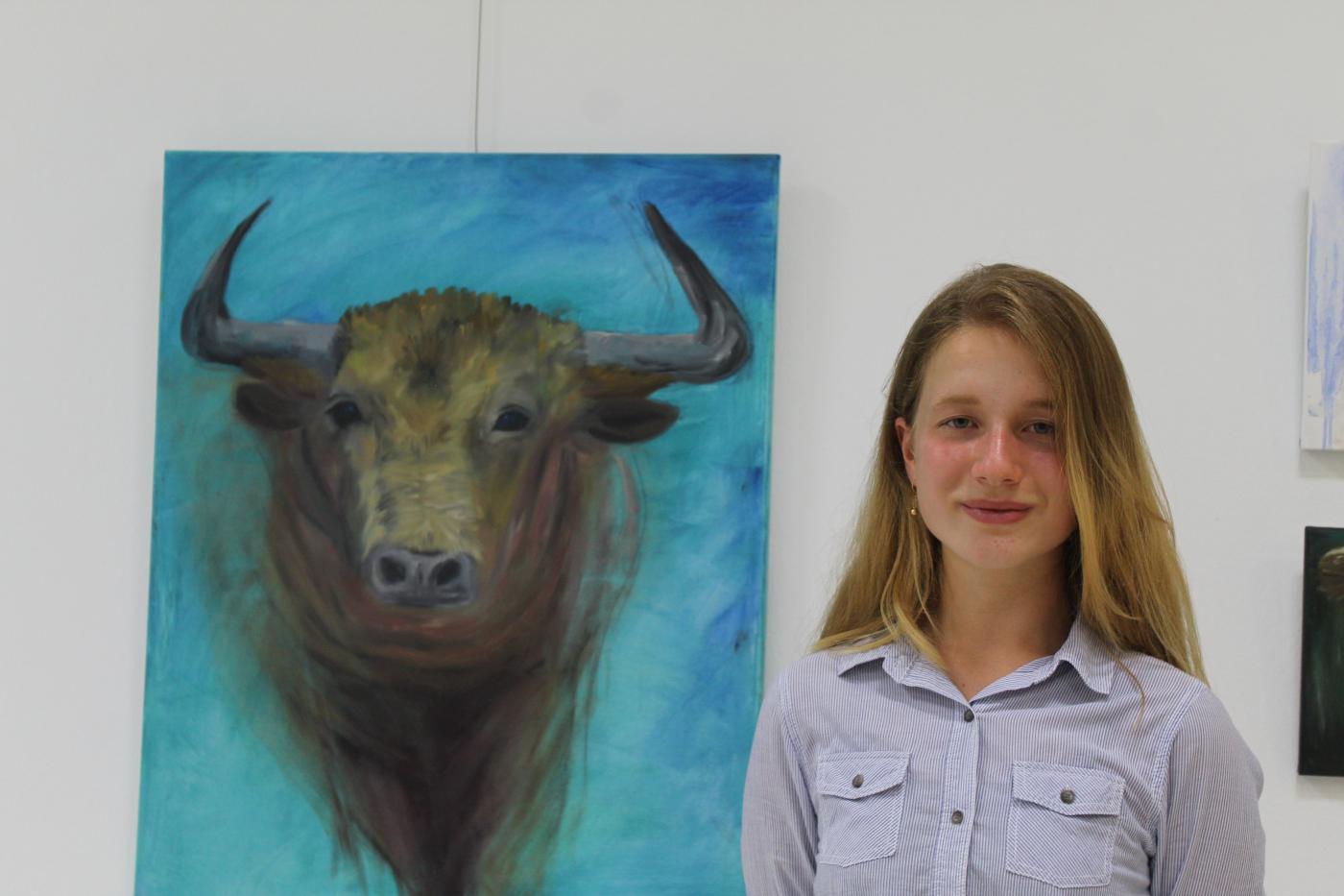 Elizaveta Velinchko, también expone en La Cala.
