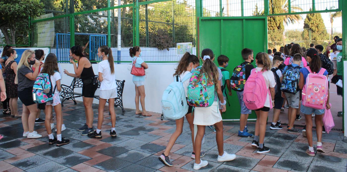 2.090 alumnos mijeños estudiarán Educación Infantil, de los que 690 de ellos acceden por primera vez al colegio.
