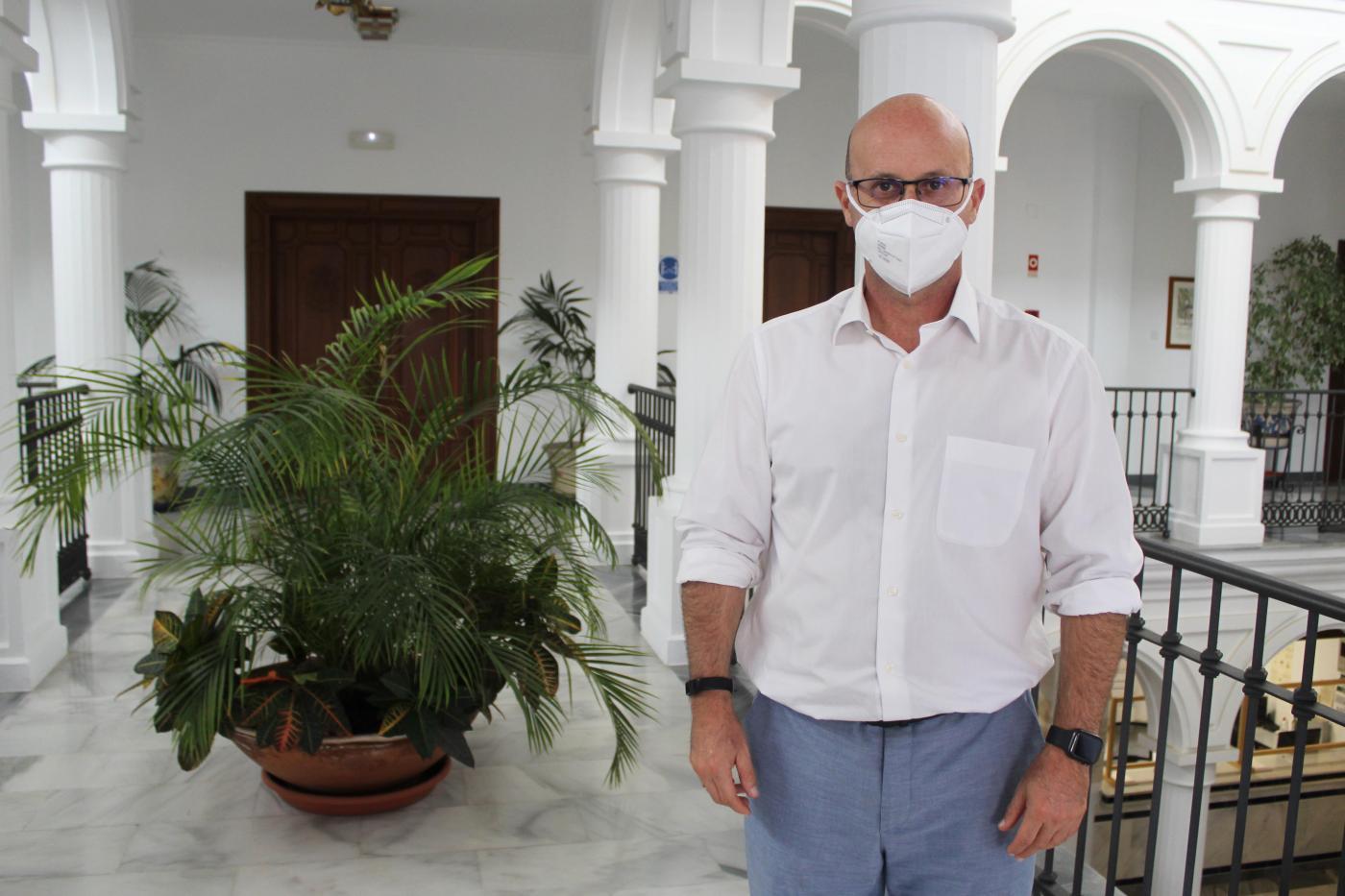 José Carlos Martín, concejal de Servicios Operativos del Ayuntamiento de Mijas.