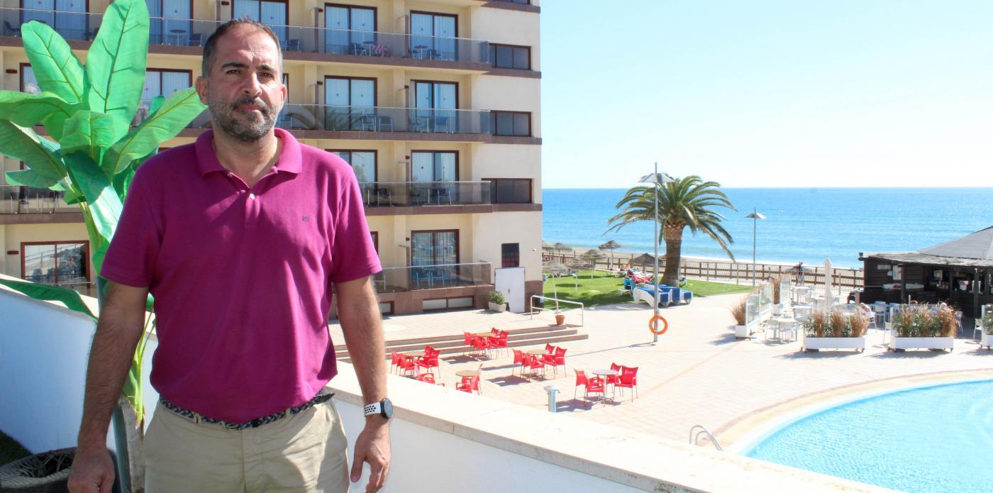 Francisco Díaz, vicepresidente en Mijas de la Asociación de Empresarios Hoteleros de la Costa del Sol (Aehcos)  