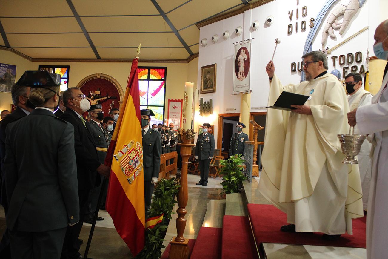 La Guardia Civil celebró ayer la festividad de su patrona |