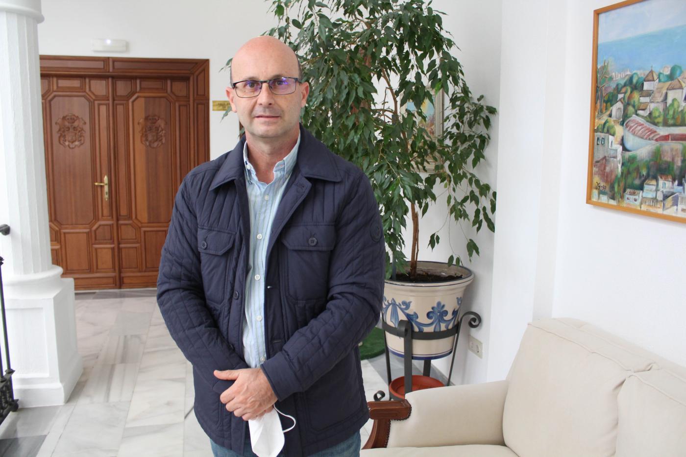 El concejal de Obras e Infraestructuras, José Carlos Martín.